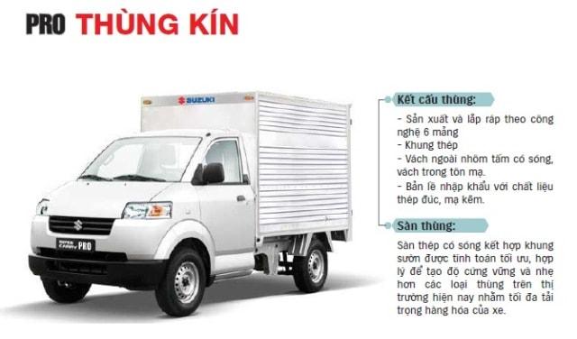 SUZUKI SUPER CARRY PRO THUNG KIN
